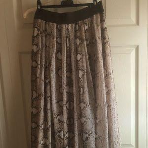 WHBM full length skirt.